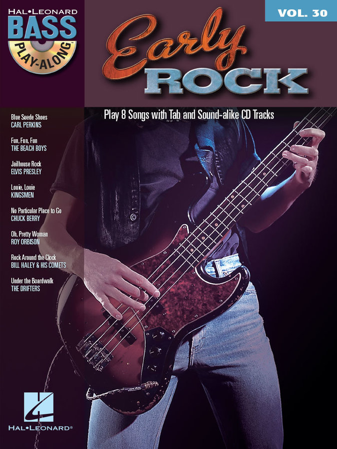 View larger image of Early Rock - Bass Play-Along Volume 30 w/CD