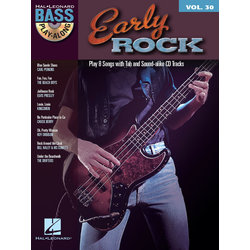 Early Rock - Bass Play-Along Volume 30 w/CD