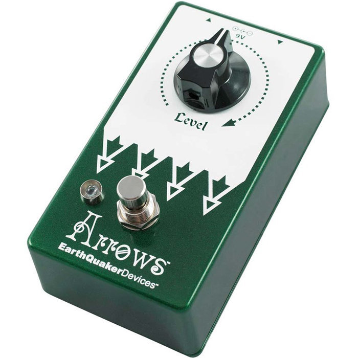 View larger image of EarthQuaker Arrows V2 Preamp Booster Pedal