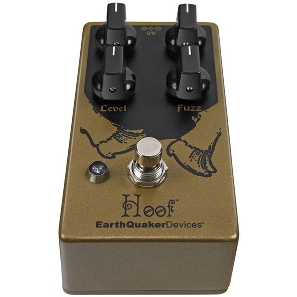 View larger image of Earthquaker Hoof Germanium/Silicon Fuzz V2 Pedal