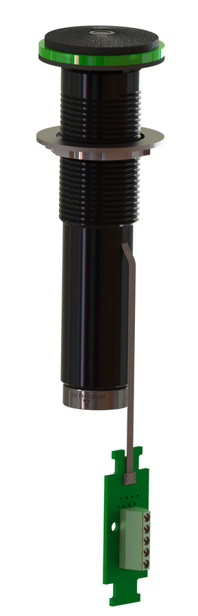 View larger image of Earthworks IMBL30-B Low Profile Boundary Layer Microphone - Black