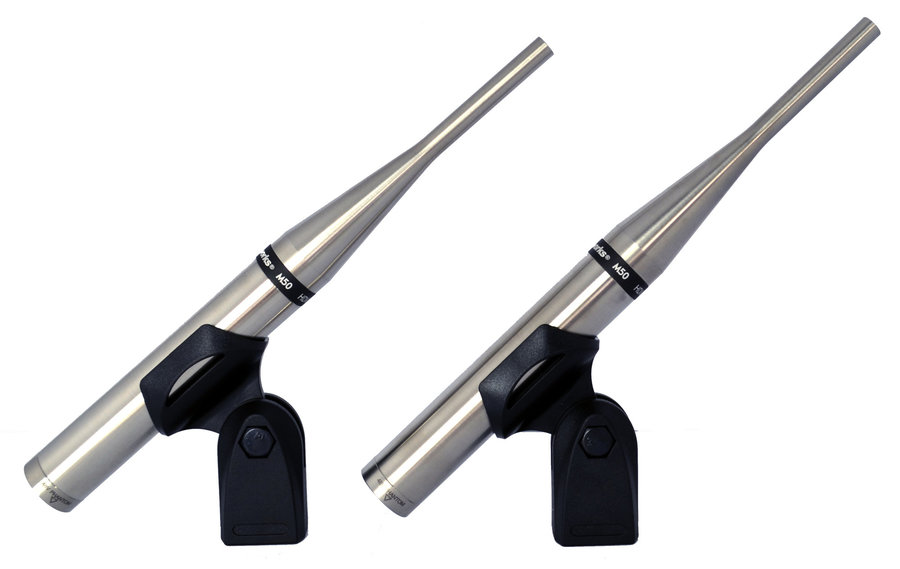 View larger image of Earthworks M50mp Omnidirectional Measurement Microphone - 50kHz, Matched Pair