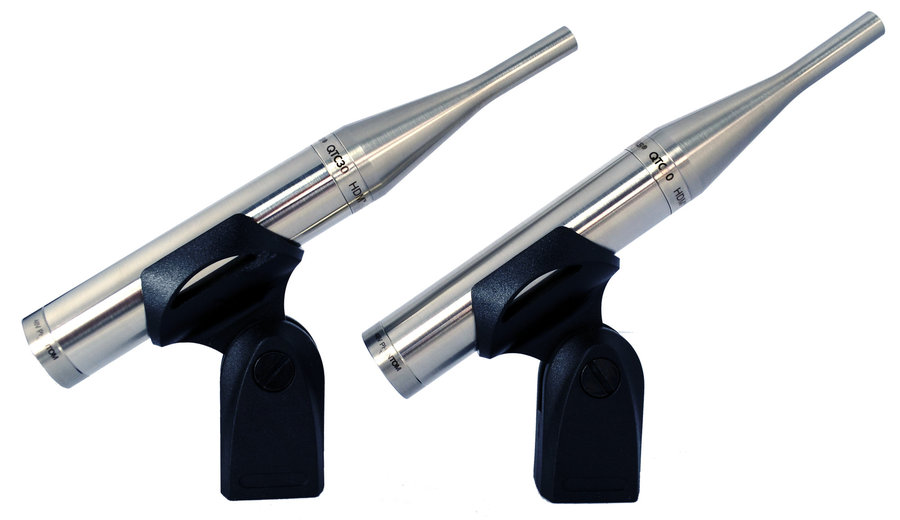 View larger image of Earthworks QTCMP30mp Omnidirectional Microphone for Quiet Sources - 30kHz, Matched Pair