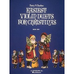 Easiest Violin Duets for Christmas - Book 1