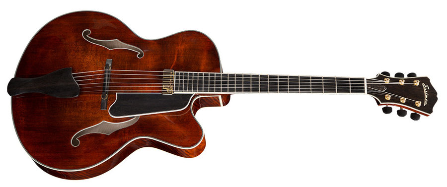 View larger image of Eastman AR810CE Archtop Venetian Cutaway Electric Guitar