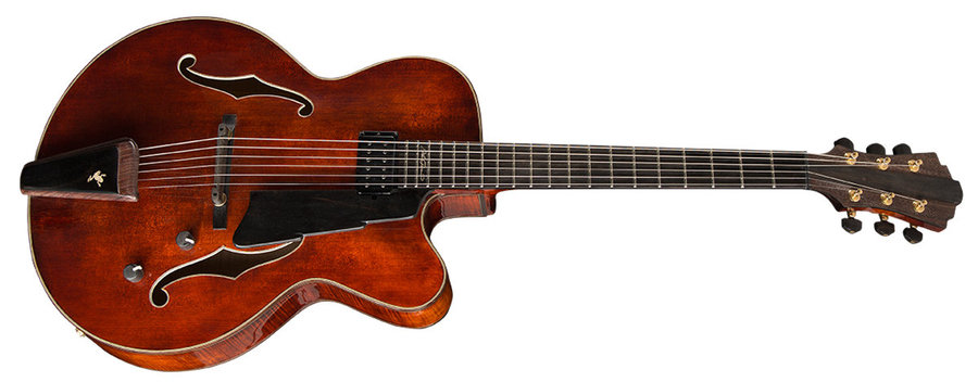 View larger image of Eastman AR880CE John Pisano Signature Archtop Electric Guitar