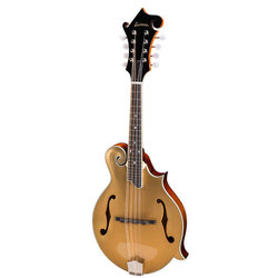 Eastman MD415-GD F-Style Mandolin - Gold Flake