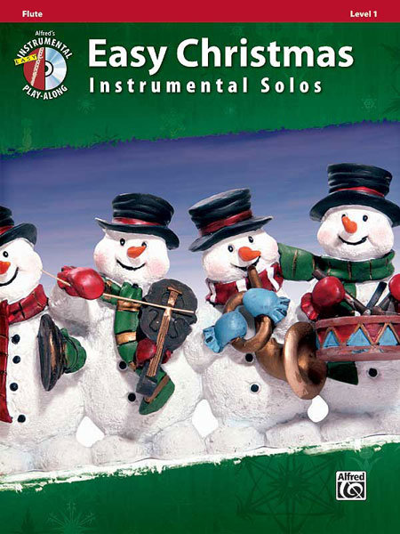 View larger image of Easy Christmas Instrumental Solos - Flute w/CD