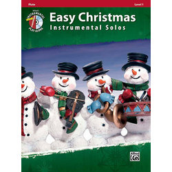 Easy Christmas Instrumental Solos - Flute w/CD