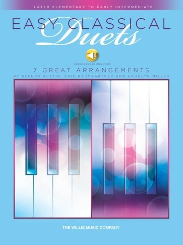 View larger image of Easy Classical Duets - BK/Online Audio (1P4H)