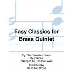 Easy Classics (The Canadian Brass) - Conductor