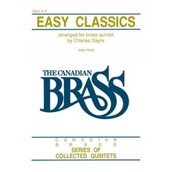 Easy Classics (The Canadian Brass) - French Horn