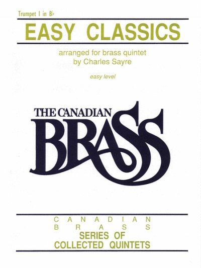 View larger image of Easy Classics (The Canadian Brass) - Trumpet 1