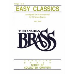 Easy Classics (The Canadian Brass) - Trumpet 1