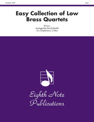 View larger image of Easy Collection of Low Brass Quartets