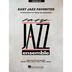 Easy Jazz Favorites - Bari Sax