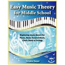 Easy Music Theory for Middle School - Student Workbook 25-Pack