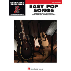Easy Pop Songs - (Essential Elements Guitar Ensembles)