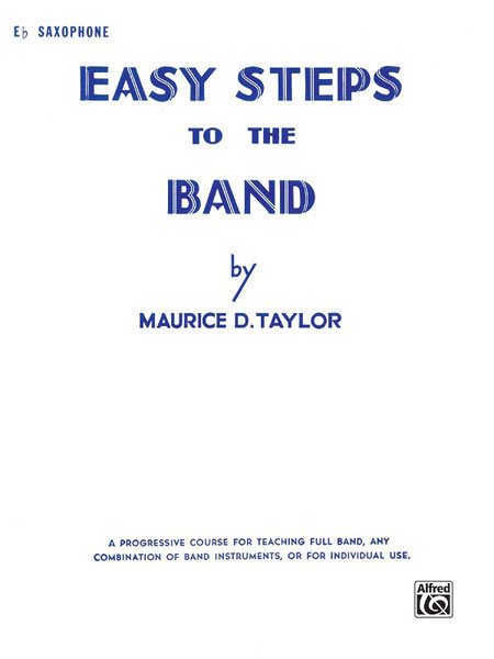 View larger image of Easy Steps to the Band - Alto Sax