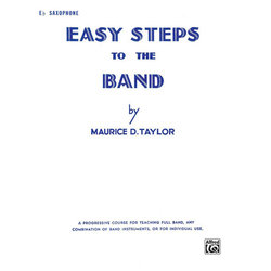 Easy Steps to the Band - Alto Sax