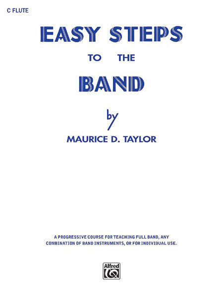 View larger image of Easy Steps to the Band - Flute