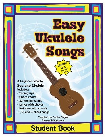 View larger image of Easy Ukulele Songs Student Book - Book/CD