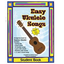 Easy Ukulele Songs Student Book - Book/CD