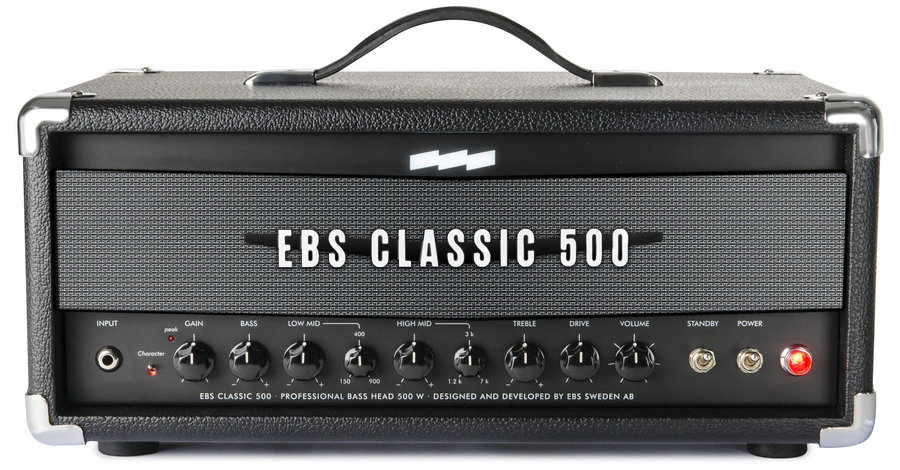 View larger image of EBS Classic 500 Bass Amp Head