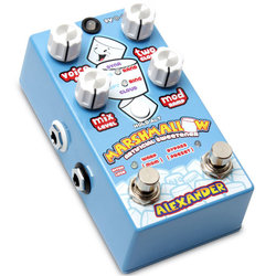 Alexander Pedals Marshmallow Artificial Sweetener Pitch Shifter Pedal