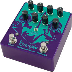 EarthQuaker Pyramids Stereo Flanger Pedal