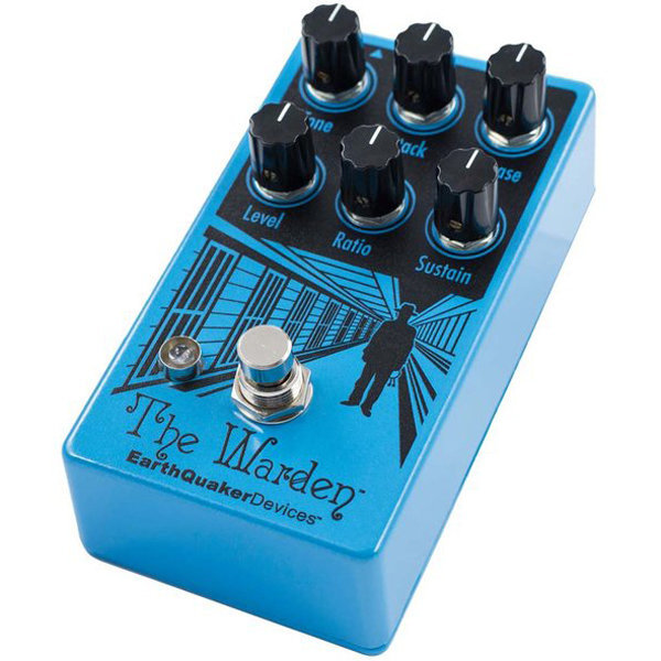 View larger image of EarthQuaker The Warden V2 Optical Compressor Pedal
