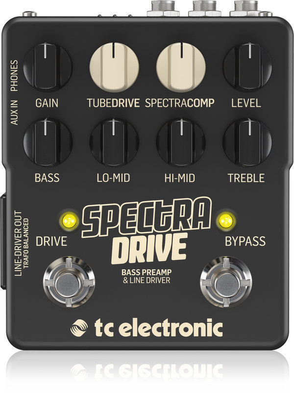 View larger image of TC Electronic Spectradrive Bass Preamp Pedal