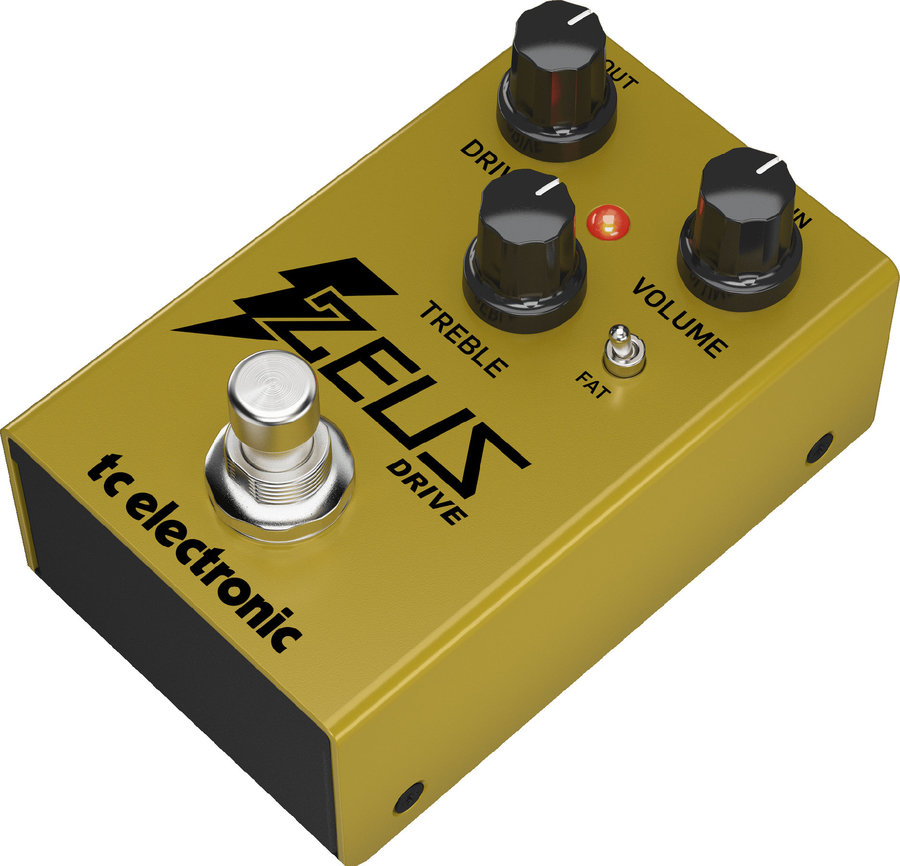 View larger image of TC Electronic Zeus Drive Overdrive Pedal
