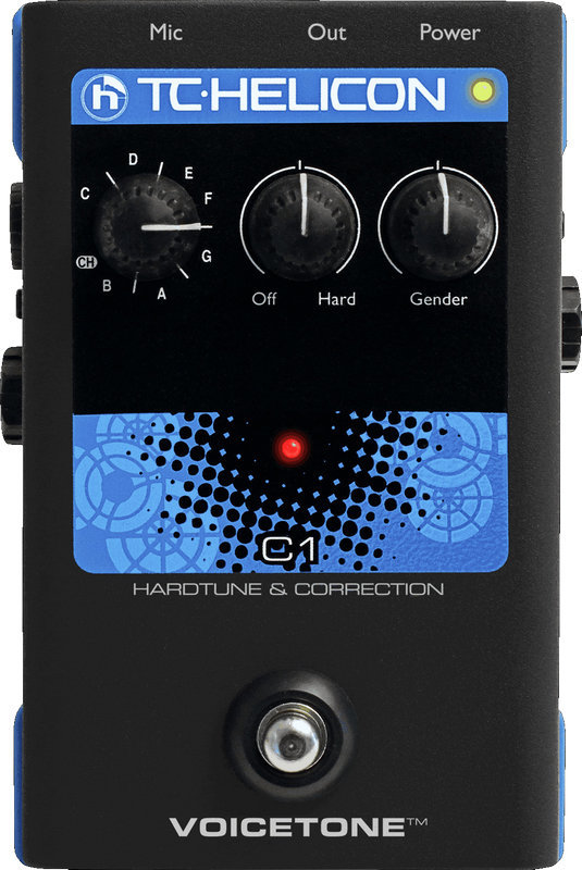 View larger image of TC Helicon VoiceTone C1 Hardtune and Pitch Correction Pedal