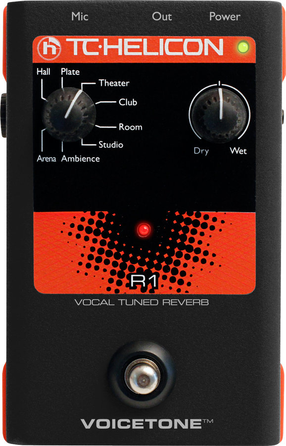 View larger image of TC Helicon VoiceTone R1 Pedal