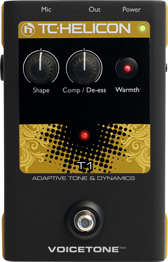 View larger image of TC Helicon VoiceTone T1 Vocal Tone Pedal