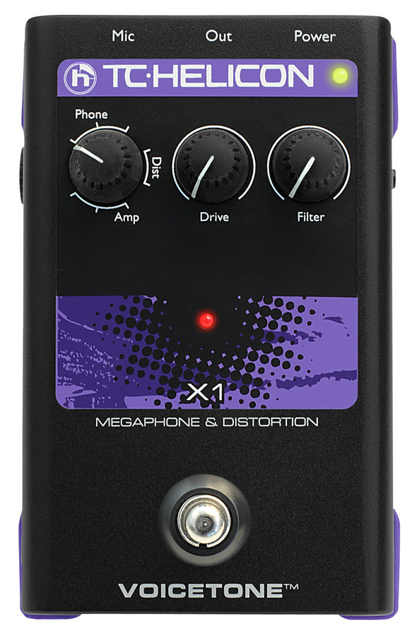View larger image of TC Helicon VoiceTone X1 Vocal Effects Pedal