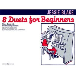 Eight Duets For Beginners - Piano Solos With Duet Accompaniment