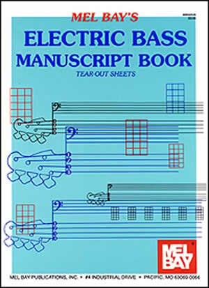 View larger image of Electric Bass Manuscript Book