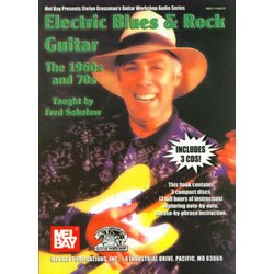Electric Blues & Rock Guitar - The 1960s & 70s w/3-CD