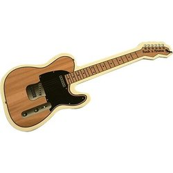 Electric Guitar Air Freshener - Sandalwood