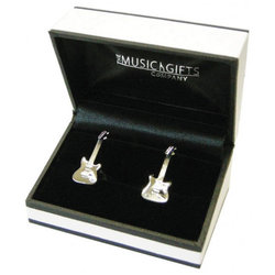 Electric Guitar Cuff Links