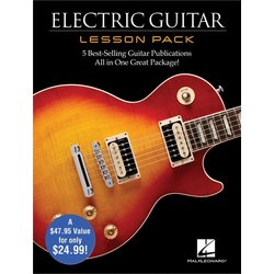 Electric Guitar Lesson Pack (Boxed Set) w/DVD