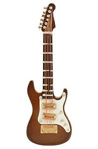 View larger image of Electric Guitar Magnet - Brown, 4