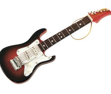 View larger image of Electric Guitar Ornament - Brown, 5
