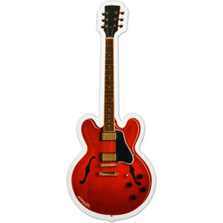 Electric Guitar Red Magnet - 6