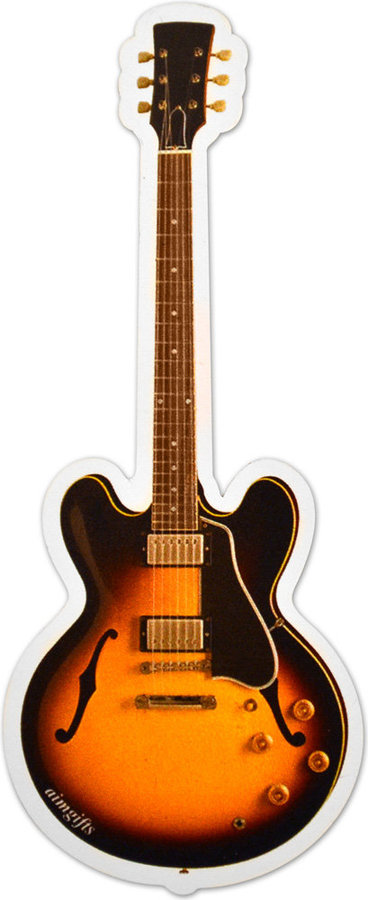 View larger image of Electric Guitar Sunburst Magnet - 6