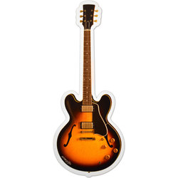 Electric Guitar Sunburst Magnet - 6