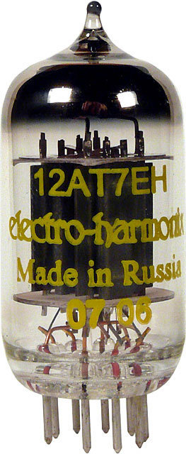 View larger image of Electro-Harmonix 12AT7 (also ECC81) Preamp Vacuum Tube