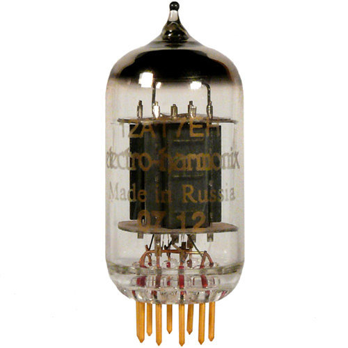 View larger image of Electro-Harmonix 12AT7 Preamp Tube - Gold Pins